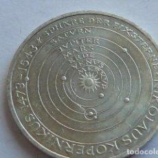 Monedas antiguas de Europa: MONEDA DE PLATA DE 5 MARCOS DE ALEMANIA DE 1973 J, CECA HAMBURGO, PESA 11,2 GR NICOLAS COPERNICO . Lote 155677454
