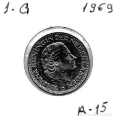 Monedas antiguas de Europa: MEC - HOLANDA 1 GULDEN 1969 - A15. Lote 155687902
