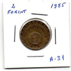 Monedas antiguas de Europa: MEC - UNGRYA / 2 FORINT 1985 / - A31. Lote 155697130