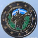 Monedas antiguas de Europa: GRECIA 2013 - MONEDA 2 EUROS COLOR - 100 ANV. DE LA UNION DE CRETA A GRECIA. Lote 155855450