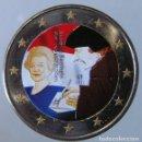 Monedas antiguas de Europa: HOLANDA 2011 - 2 EUROS COLOR - V CENT. DE LA PUBLICACION DEL ELOGIO DE LA LOCURA - E. DE ROTERDAM . Lote 155855994