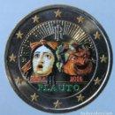Monedas antiguas de Europa: ITALIA 2016 - MONEDA 2 EUROS COLOR - 2200 ANV. DE LA MUERTE DE PLAUTO. Lote 155857506