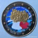 Monedas antiguas de Europa: MALTA 2013 - MONEDA 2 EUROS COLOR - AUTOGOBIERNO 1921. Lote 155858634