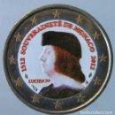 Monedas antiguas de Europa: MONACO 2012 - MONEDA 2 EUROS COLOR - V CENTENARIO DE LA SOBERANIA DE MONACO. Lote 155859474