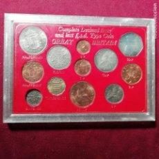 Monedas antiguas de Europa: REINO UNIDO. ESTUCHE DE LAS ÚLTIMAS MONEDAS EN SISTEMA MONETARIO INGLÉS. SC. 1967. Lote 155939194