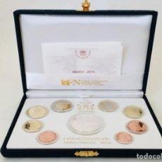 Monedas antiguas de Europa: CONJUNTO DE MONEDAS ANUAL OFICIAL DEL VATICANO 2014 + 20 EURO CANONIZACIÓN JUAN XXIII. Lote 156071722