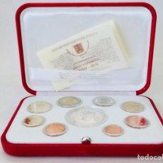 Monedas antiguas de Europa: CONJUNTO DE MONEDAS ANUAL OFICIAL DEL VATICANO 2015 + 20 EUROS PAPA FRANCISCO. Lote 156077870