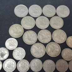 Monedas antiguas de Europa: PORTUGAL. LOTE 27 MONEDAS DE 5 ESCUDOS Y DE 2.5 ESCUDOS. Lote 156737826