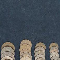 Monedas antiguas de Europa: PORTUGAL. LOTE 40 MONEDAS: 20-10 Y 1 ESCUDO// 50 ;XX Y X CENTAVOS. Lote 156739266