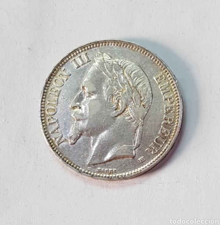 FRANCIA NAPOLEÓN III 5 FRANCOS -BB- 1868 (MD) (Numismática - Extranjeras - Europa)