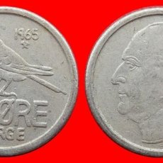 Monedas antiguas de Europa: 25 ORE 1965 NORUEGA 09689T COMPRAS SUPERIORES 40 EUROS ENVIO GRATIS. Lote 156818350