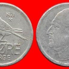 Monedas antiguas de Europa: 25 ORE 1971 NORUEGA 09691T COMPRAS SUPERIORES 40 EUROS ENVIO GRATIS. Lote 156818658
