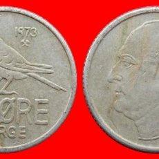 Monedas antiguas de Europa: 25 ORE 1973 NORUEGA 09692T COMPRAS SUPERIORES 40 EUROS ENVIO GRATIS. Lote 156818762