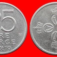 Monedas antiguas de Europa: 25 ORE 1979 NORUEGA 09694T COMPRAS SUPERIORES 40 EUROS ENVIO GRATIS. Lote 156819498