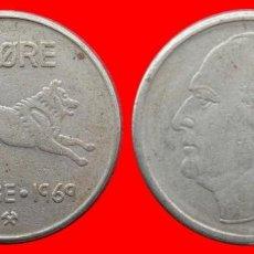 Monedas antiguas de Europa: 50 ORE 1969 NORUEGA 09695T COMPRAS SUPERIORES 40 EUROS ENVIO GRATIS. Lote 156820478