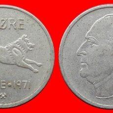Monedas antiguas de Europa: 50 ORE 1971 NORUEGA 09696T COMPRAS SUPERIORES 40 EUROS ENVIO GRATIS. Lote 156820658