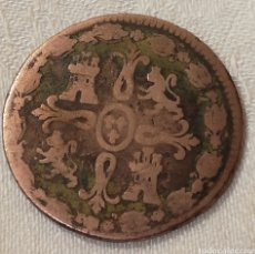 Monedas antiguas de Europa: MONEDA DE COBRE, JUBIA 8 MARAVEDIS 1824. Lote 156820729