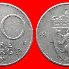 Monedas antiguas de Europa: 50 ORE 1980 NORUEGA 09698T COMPRAS SUPERIORES 40 EUROS ENVIO GRATIS. Lote 156820958
