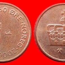 Monedas antiguas de Europa: 50 ORE 2006 NORUEGA 09701T COMPRAS SUPERIORES 40 EUROS ENVIO GRATIS. Lote 156821354