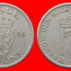 Monedas antiguas de Europa: 1 CORONA 1956 NORUEGA 09703T COMPRAS SUPERIORES 40 EUROS ENVIO GRATIS. Lote 156821686
