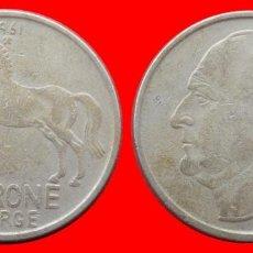 Monedas antiguas de Europa: 1 CORONA 1961 NORUEGA 09704T COMPRAS SUPERIORES 40 EUROS ENVIO GRATIS. Lote 156821810