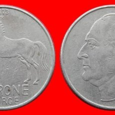 Monedas antiguas de Europa: 1 CORONA 1973 NORUEGA 09705T COMPRAS SUPERIORES 40 EUROS ENVIO GRATIS. Lote 156821982