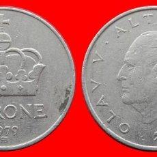 Monedas antiguas de Europa: 1 CORONA 1979 NORUEGA 09706T COMPRAS SUPERIORES 40 EUROS ENVIO GRATIS. Lote 156822150