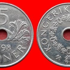 Monedas antiguas de Europa: 5 CORONAS 1998 NORUEGA 09709T COMPRAS SUPERIORES 40 EUROS ENVIO GRATIS. Lote 156822686