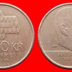 Monedas antiguas de Europa: 10 CORONAS 1995 NORUEGA 09710T COMPRAS SUPERIORES 40 EUROS ENVIO GRATIS. Lote 156822870