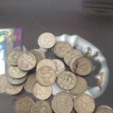 Monedas antiguas de Europa: HOLANDA 25 ORE 40 MONEDAS PLATA AÑOS 1907/1961. Lote 156832458