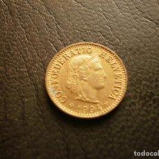 Monedas antiguas de Europa: SUIZA 5 RAPPEN 1994. Lote 157110378