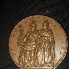 Monedas antiguas de Europa: CLAUDE JOSEPH ROUGET DE LISLE FRANCÉS 1833 LOUIS-PHILIPPE I MÉDAILLE À L'HÉROÏQU. Lote 157124866
