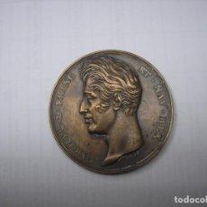Monedas antiguas de Europa: FRANCIA, MEDALLA DE BRONCE DEL REY CARLOS X EN HOMENAJE AL REY LUIS XVI. Lote 157341062