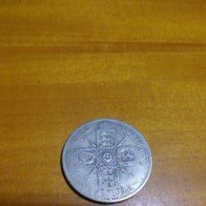 Monedas antiguas de Europa: MONEDA 1 FLORIN INGLÉS DE PLATA 1920. Lote 157916712
