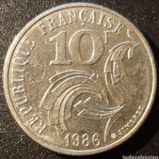 Monedas antiguas de Europa: FRANCIA CONMEMORATIVA 10 FRANCOS 1986 - ENVIO GRATIS A PARTIR DE 35€. Lote 158616590
