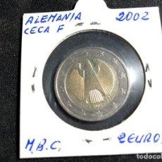 Monedas antiguas de Europa: MONEDA 2 EUROS ALEMANIA 2002-CECA F. Lote 158626554