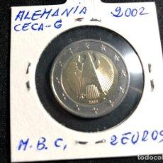Monedas antiguas de Europa: MONEDA 2 EUROS ALEMANIA 2002-CECA G. Lote 158765290