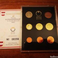 Monedas antiguas de Europa: SERIE PROOF EURO AUSTRIA 2007 SÓLO 7 MONEDAS. Lote 158877612