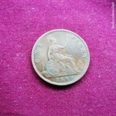 Monedas antiguas de Europa: REINO UNIDO. MUY BUEN PENNY DE 1873. Lote 158896630
