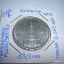 Monedas antiguas de Europa: MONEDA CIRCULADA DE 5 REICH MARK DE PLATA.1934 A. (MBC) III REICH. Lote 158963326