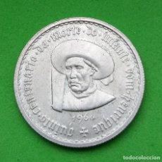 Monedas antiguas de Europa: PORTUGAL - REPUBLICA PORTUGUESA - 1960 - 5 ESCUDOS - PLATA. Lote 158977834