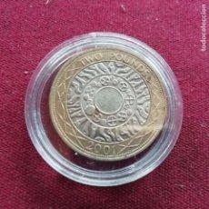 Monedas antiguas de Europa: REINO UNIDO. 2 LIBRAS DE 2001. SC. Lote 159129662