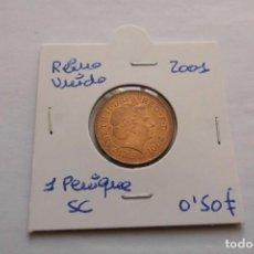 Monedas antiguas de Europa: REINO UNIDO 1 PENIQUE 2001 SC. Lote 159494266