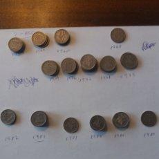 Monedas antiguas de Europa: LOTE 90 MONEDAS PORTUGUESAS ESCUDOS. Lote 159510246