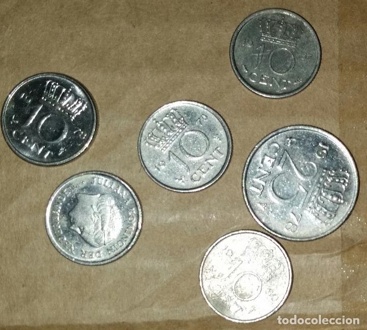 Monedas antiguas de Europa: LOTE MONEDAS PAISES BAJOS - Foto 2 - 159602062