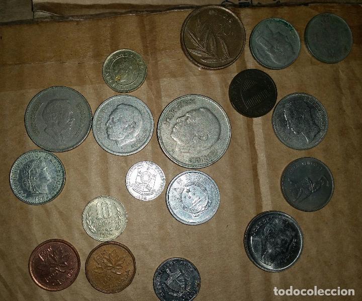 Monedas antiguas de Europa: LOTE MONEDAS EXTRANJERAS DISTINTOS PAISES - Foto 3 - 159603294