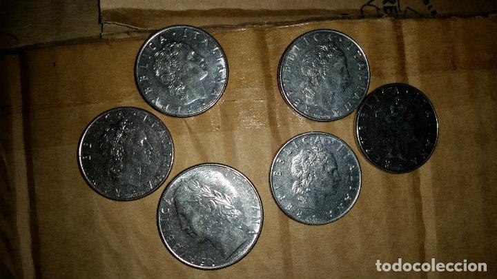 LOTE MONEDAS ITALIANAS (Numismática - Extranjeras - Europa)