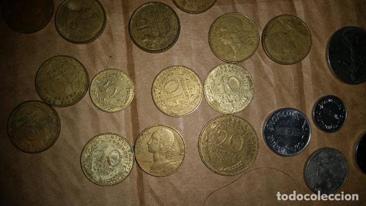LOTE MONEDAS FRANCESAS (Numismática - Extranjeras - Europa)