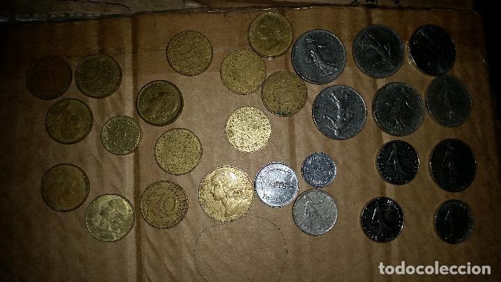 Monedas antiguas de Europa: LOTE MONEDAS FRANCESAS - Foto 5 - 159604550