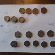 Monedas antiguas de Europa: LOTE 60 MONEDAS FRANCESAS FRANCOS. Lote 159649502